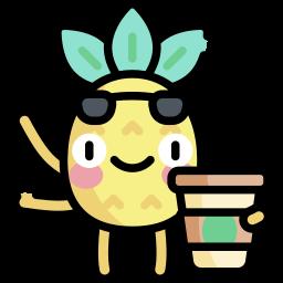 Veseli ananas