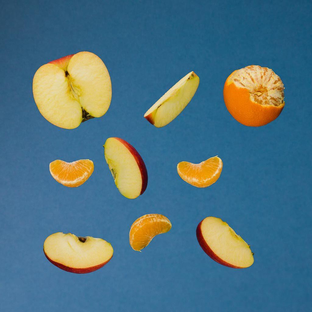 Mandarina i jabuka