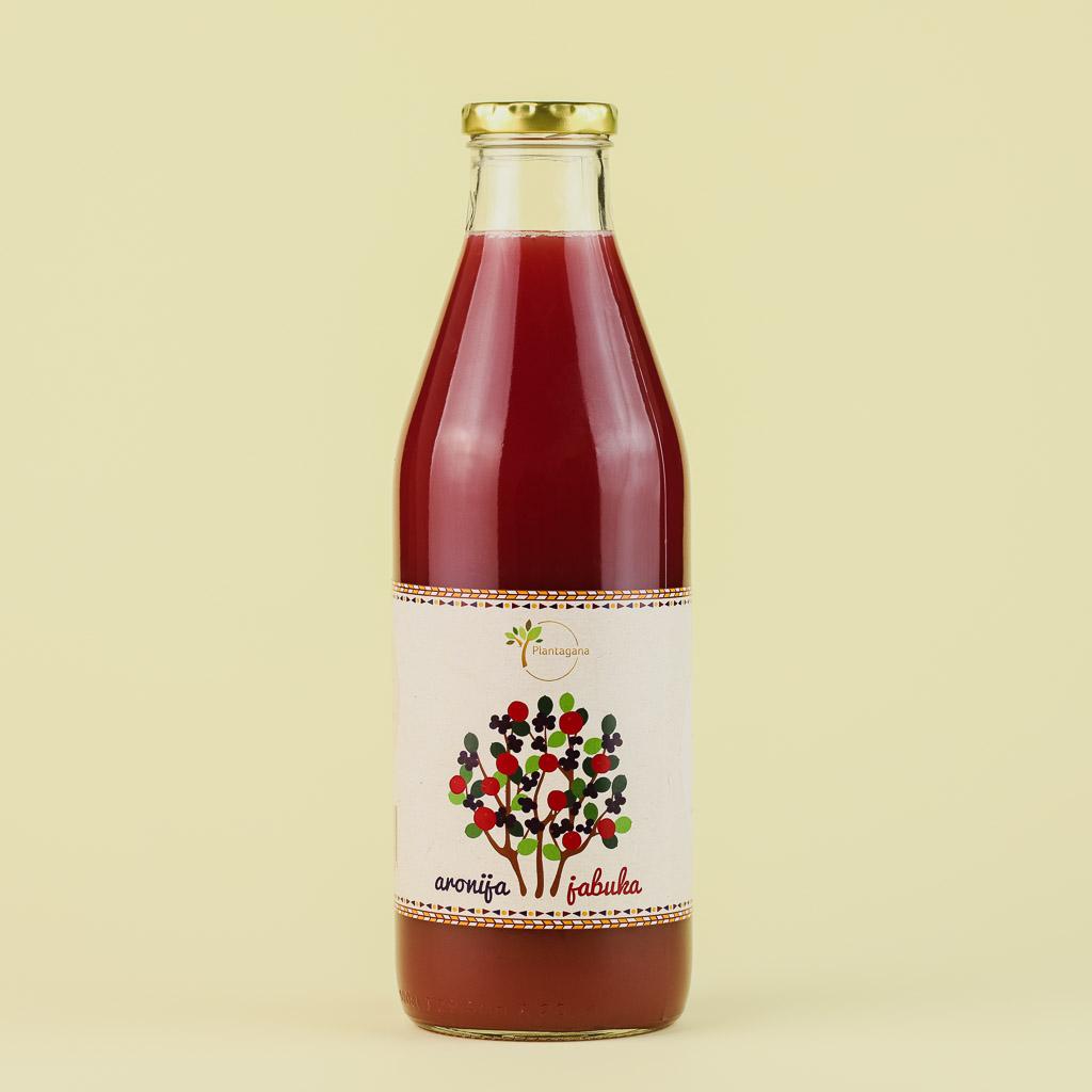 Sok od aronije i jabuke Plantagana