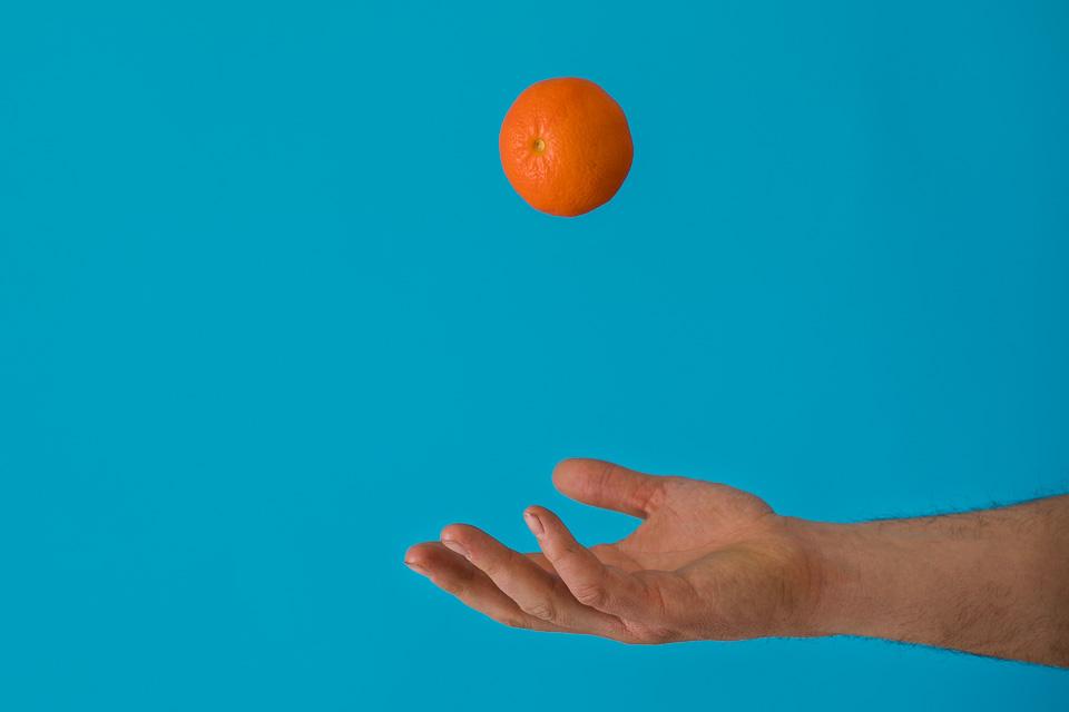 Mandarina u zraku