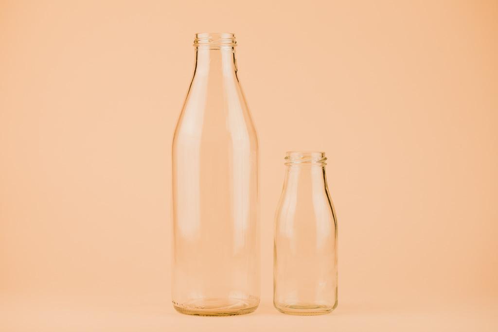 Plantagana staklene boce